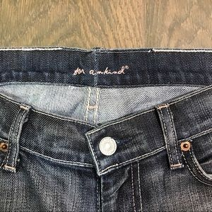 7 For All Mankind Jeans - 7FAM 7 For All Mankind Dojo Jeans Pink Thread 30